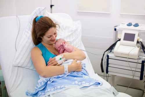 Naissance de bébé Clinique Saint George Nice