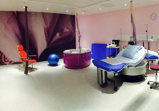 Salle accouchement maternite Clinique Saint George Nice